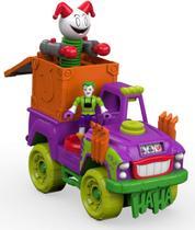 0db274c44e Imaginext Dc Super Friends Coringa E Veículo DRT58 - Fisher-price - Mattel