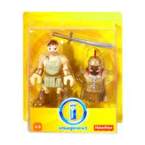Imaginext Figura Basica c/ Acessorios W9616 - Mattel