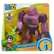 Imaginext Jovens Titãs Cinderblock e Mutano - Mattel -