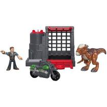 Imaginext Jurassic WORLD Captura do Dinossauro Veloz Mattel FMX88
