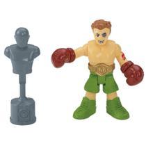 Imaginext Lutador de Boxe com Acessórios - Mattel (4467) -