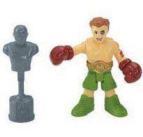 Imaginext Mini Figura Com Acessórios - Lutador de Boxe - Fisher Price -