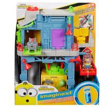 Imaginext Minions Esconderijo dos Cacarecos do GRU Mattel -