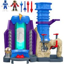 Imaginext Power Base dos Rangers Mattel DMX64 061481