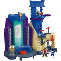 Imaginext Power.Rangers Base Dos Rangers Mattel