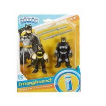 Imaginext Super Friends BLACK e Batman Mattel M5645 -