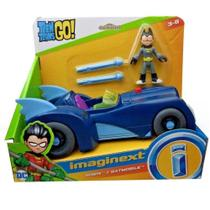 Imaginext Teen Titans Go - Robin e Batmóvel - Mattel -