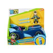 Imaginext Teen Titans Go! Robin E Batmóvel - Mattel -