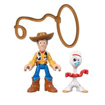 Imaginext - Toy Story 4 - Forky & Woody Gbg90 - Mattel