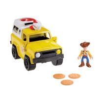 Imaginext Toy Story - Carro Pizza Planet - Fisher Price -