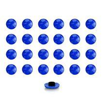 Imãs Enfeite de Geladeira e Painel Botão Azul Escuro - 24 Unidades - Tudoprafoto