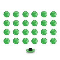 Imãs Enfeite de Geladeira e Painel Botão Verde - 24 Unidades - Tudoprafoto