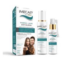 Imecap Hair Max Kit Antiqueda: Shampoo 200 ml + Loção Tônica 100ml -