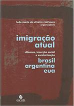 Imigracao Atual - Dilemas Insercao Social E Escolarizacao Brasil Argetnina E Eua - Aut Paranaense - Autores Paranaenses