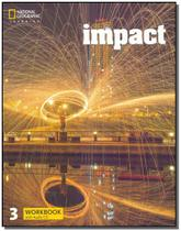 Impact 3 - Workbook With Audio Cd - 01Ed/17 - Cengage learning didatico -