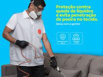 Impermeabilização de estofados (até 4 lugares) - produto não é tóxico nem inflamável, secagem 24h - Cdf