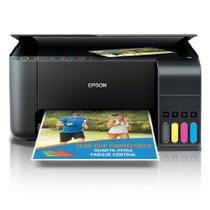 Impressora A Cor Multifuncional Epson Ecotank L3150 Com Wi-fi 110v/220v Preta -