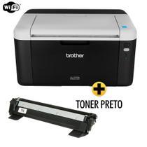 Impressora Brother laser HL1212W Wireless + Toner 1060 Compativel Extra -