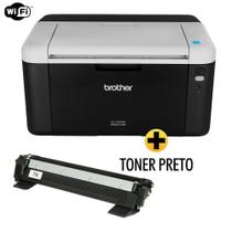 Impressora Brother laser HL1212W Wireless + Toner 1060 Compativel Extra -