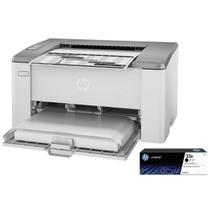 Impressora HP LaserJet Ultra M106W USB Wireless 110v