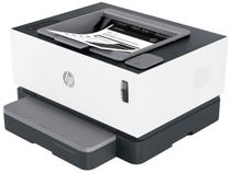Impressora HP Neverstop 1000W Laser  - Wi-Fi Preto e Branco