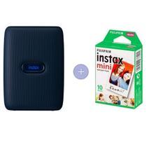 Impressora Instax Mini Link Com 10 Filmes- Jeans Escuro - Fujifilm
