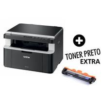 Impressora Laser Brother Dcp-1602 Toner Extra E Cabo Usb -
