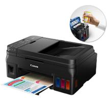 Impressora Multifuncional Canon Maxx G4100 Jato de Tinta Color Wireless Bivolt - Hp