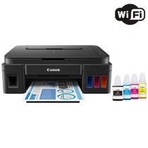 Impressora Multifuncional Canon Maxx Tinta G3111 Tanque de Tinta Colorida Wireless com Refil -