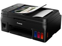 Impressora Multifuncional Canon Mega Tank G4110 - Tanque de Tinta Colorida Wi-Fi USB