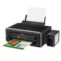Impressora Multifuncional Epson Colorida Com Tanque De Tinta Wireless Ecotank L455 -