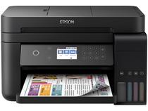 Impressora Multifuncional Epson EcoTank L6171 - Tanque de Tinta Wi-Fi Colorida USB