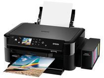 "Impressora Multifuncional Epson EcoTank L850 - Jato de Tinta Colorida LCD 2,7"" USB"
