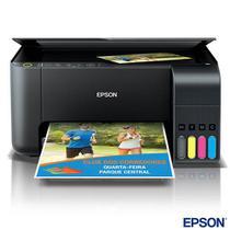 Impressora Multifuncional Epson EcoTank Tanque de Tinta com USB e Wi-Fi - L3150 -