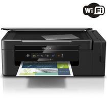 Impressora Multifuncional Epson L395 Eco tank Wireless, Impressora, Copiadora e Scanner -