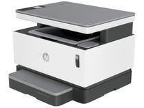 Impressora Multifuncional HP Neverstop 1200W - Laser Preto e Branco Wi-Fi Tanque de Toner