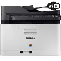 Impressora Multifuncional Samsung Xpress SL-C480FW Laser Color Wireless 110V
