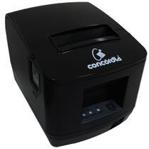 Impressora Não Fiscal Térmica De Cupom Concórdia Xp V320 Usb E Ethernet Preta -