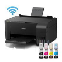 Impressora Sublimática L3150 Epson A4 Multifuncional c/ WiFi + Tintas -
