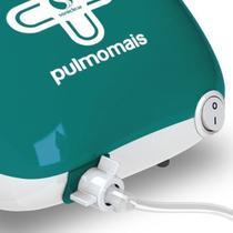 Inalador compressor nebulizador soniclear mecjato ar pulmomais -