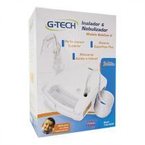 Inalador e Nebulizador G-tech Nebcom V Tecnologia Super Flow - Branco -