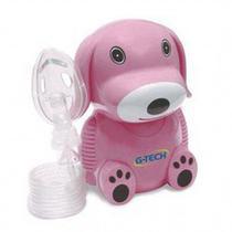 Inalador e Nebulizador G-Tech Nebdog - Pink -