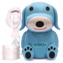Inalador e Nebulizador Infantil do Cachorrinho Nebdog  G-Tech - Azul -