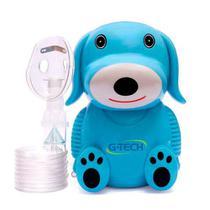 Inalador Nebulizador G-tech Nebdog Azul Bivolt -