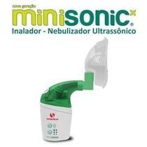 Inalador / nebulizador ultrassonico minisonic - soniclear -