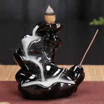 Incensário Flor de Lótus Cascata de Fumaça - Relaxar E Meditar
