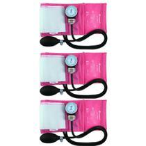Incoterm Aparelho Pressão Tradicional Rosa (Kit C/03) -