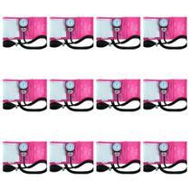 Incoterm Aparelho Pressão Tradicional Rosa (Kit C/12) -