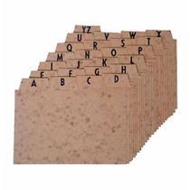 Indice a/z 5x8 cartao timbo / un / menno -