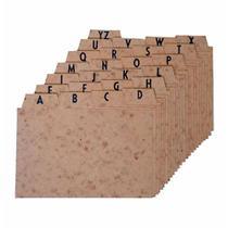 Indice a/z 6x9 cartao timbo / un / menno -